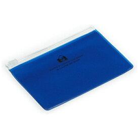 エトランジェ etranger ジッパーポケットカード ブルー