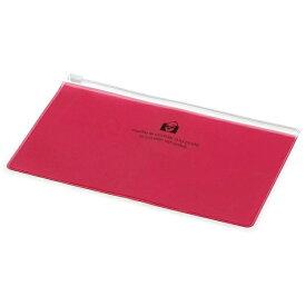 エトランジェ etranger ジッパーポケットペン ピンク