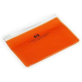 エトランジェ etranger ジッパーポケットカード オレンジ