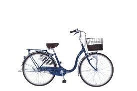タマコシ Tamakoshi 26型 自転車 インテグレイト263HD(ネイビー/3段変速) [26型 /内装3段]【組立商品につき返品不可】 【代金引換配送不可】
