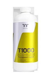 THERMALTAKE サーマルテイク T1000 Transparent Coolant Acid Green 1000ml[CLW245OS00AGA]