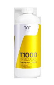 THERMALTAKE サーマルテイク T1000 Transparent Coolant Yellow 1000ml[CLW245OS00YEA]