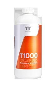 THERMALTAKE サーマルテイク T1000 Transparent Coolant Orange 1000ml[CLW245OS00ORA]