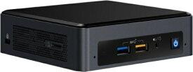 インテル Intel NUC Mini PC デスクトップPC[モニター無し /intel Core i5 /SSD:256GB /メモリ 8GB /2019年3月モデル] BOXNUC8i5BEKPA ブラック [モニター無し /SSD:256GB /メモリ:8GB /2019年3月モデル][BOXNUC8I5BEKPA]
