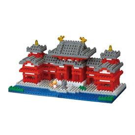 カワダ KAWADA ナノブロック NBH-186 平等院鳳凰堂