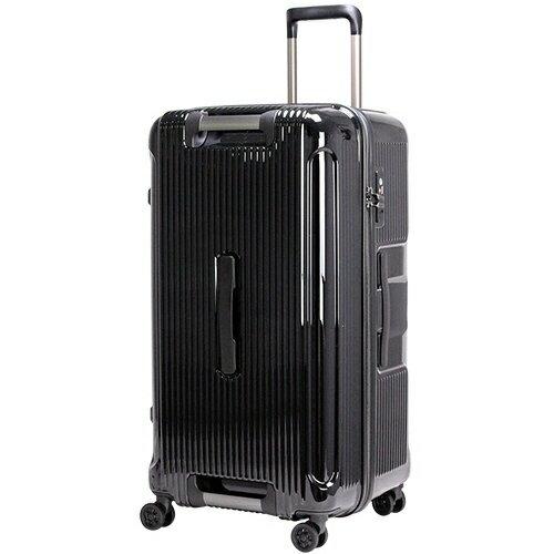 トライデント TRIDENT スーツケースハードジッパー TRI2146-71BK メタリックブラック