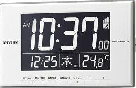 リズム時計 RHYTHM 目覚まし時計 【ルーク デジットD209】 8RZ209SR03 [デジタル /電波自動受信機能有]