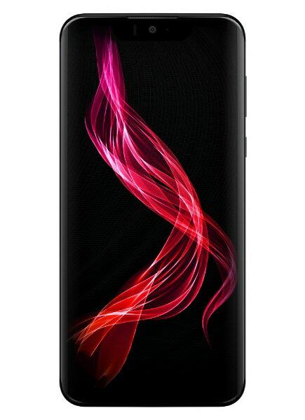 シャープ SHARP 【防水・防塵・おサイフケータイ】AQUOS zero アドバンスドブラック「SH-M10-B」6.2型 Snapdragon845 メモリ/ストレージ:6GB/128GB nanoSIM ドコモ / au / ソフトバンク対応 SIMフリースマートフォン
