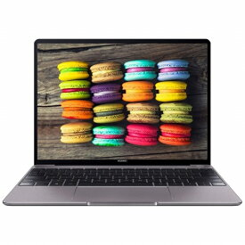 HUAWEI ファーウェイ MateBook 13 ノートパソコン スペースグレー [13.0型 /intel Core i7 /SSD:512GB /メモリ:8GB /2019年3月モデル][WRT29CH78CNC9NUA]