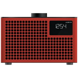 GENEVA ジェネバ ブルートゥーススピーカー Geneva Acustica Lounge Radio GENEVA レッド 875419016849JP [Bluetooth対応][875419016849JP]