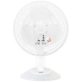 ヤマゼン YAMAZEN YDS-E188-W 小型扇風機 卓上扇 ホワイト[YDSE188]