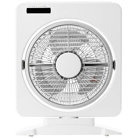 ヤマゼン YAMAZEN YSBR-A256-W ボックス型扇風機 ホワイト [リモコン付き][YSBRA256]