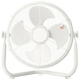 ヤマゼン YAMAZEN YMY-D30-W 床置き扇風機 ホワイト [DCモーター搭載][YMYD30]