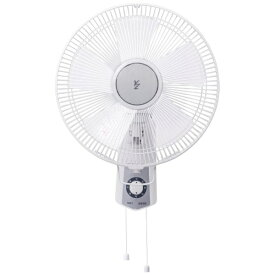 ヤマゼン YAMAZEN YWS-J306-W 壁掛け式扇風機 ホワイト[山善 扇風機 YWSJ306]