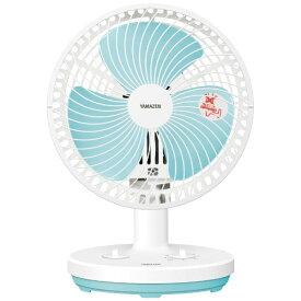 ヤマゼン YAMAZEN YDT-F184(WA) 18cm タイマー付卓上扇扇風機 卓上扇 ホワイトブルー[YDTF184]