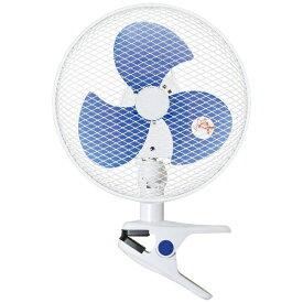 ヤマゼン YAMAZEN YCS-D237-W クリップ式扇風機 ホワイト[YCSD237]