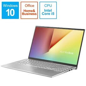 ASUS エイスース VivoBook 15 ノートパソコン トランスペアレントシルバー X512FA-EJ121TS [15.6型 /intel Core i5 /SSD:256GB /メモリ:8GB /2019年5月モデル][15.6インチ office付き 新品 windows10]