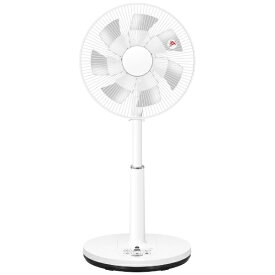ヤマゼン YAMAZEN 【ビックカメラグループオリジナル】BLX-HED303(W) 30cm DCモーター搭載リビング扇風機 室温センサー搭載 7枚羽根ツインブレード仕様 フルリモコン[山善 扇風機 BLXHED303]
