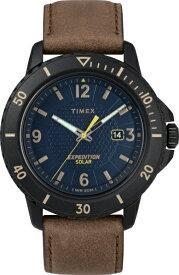 タイメックス TIMEX ガラティンソーラー ブルー×ブラウン TW4B14600 [正規品]