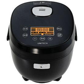 ユニテク Unitech RB-65B 糖質カット炊飯器(糖質カット時1.5合炊き) [3.5合][RB65B]