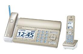 パナソニック Panasonic KX-PZ720DL-N FAX機 おたっくす シャンパンゴールド [子機1台 /普通紙][ファックス付き電話機 KXPZ720DLN]