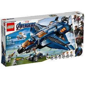 レゴジャパン LEGO 76126 マーベル アベンジャーズ・アルティメット・クインジェット