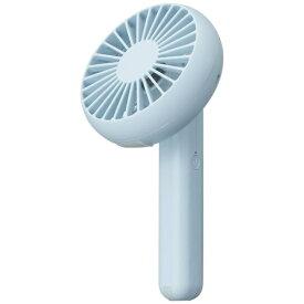 ドウシシャ DOSHISHA FSU-94B-BL 携帯扇風機 PIERIA(ピエリア) ハンディファン ブルー [DCモーター搭載][ハンディファン 携帯 扇風機]