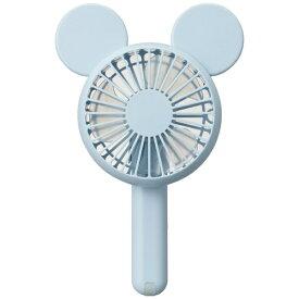 ドウシシャ DOSHISHA FWSU-94B-BL 携帯扇風機 PIERIA(ピエリア) Disney Characterシリーズ ハンディファン ブルー [DCモーター搭載][ハンディファン 携帯 扇風機]