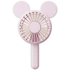 ドウシシャ DOSHISHA FWSU-94B-PK 携帯扇風機 PIERIA(ピエリア) Disney Characterシリーズ ハンディファン ピンク [DCモーター搭載][ハンディファン 携帯 扇風機]