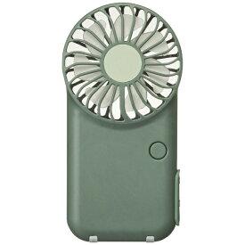 ドウシシャ DOSHISHA USF-151B-OL 携帯扇風機 PIERIA(ピエリア)ポケットファン オリーブ [DCモーター搭載][ハンディファン 携帯 扇風機]