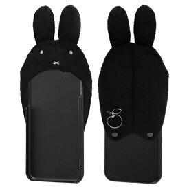 イングレム Ingrem iPhone SE(第2世代)4.7インチ/ iPhone 8/7/6s/6 『ミッフィー』/きゃらぐるみケース IC-BP7S6GRMB/MF02 フェイス_ブラック