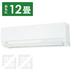 東芝 TOSHIBA RAS-F361M-W エアコン 2019年 F-Mシリーズ ホワイト [おもに12畳用 /100V][エアコン 12畳 RASF361M+RASF361MA]