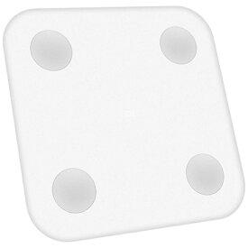 Xiaomi シャオミ XMTZC02HM 体組成計 XIAOMI スマート体組成計 ホワイト[体重計 体脂肪計 XMTZC02HM]