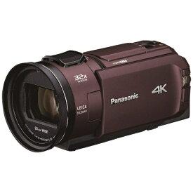 パナソニック Panasonic HC-WX2M-T ビデオカメラ カカオブラウン [4K対応][HCWX2MT]