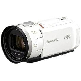 パナソニック Panasonic HC-VX2M-W ビデオカメラ ピュアホワイト [4K対応][HCVX2MW]