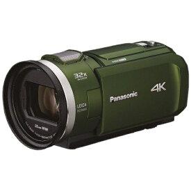 パナソニック Panasonic HC-VX2M-G ビデオカメラ フォレストカーキ [4K対応][HCVX2MG]