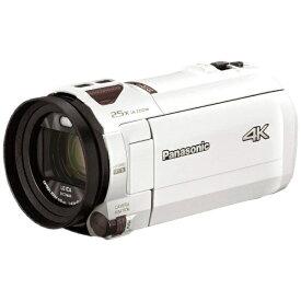 パナソニック Panasonic HC-VX992M-W ビデオカメラ ピュアホワイト [4K対応][HCVX992MW]