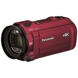パナソニック Panasonic HC-VX992M-R ビデオカメラ アーバンレッド [4K対応][HCVX992MR]