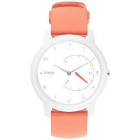 Withings ウィジングズ HWA06MODEL5ALLAS スマートウォッチ Withings Move White & Coral[HWA06MODEL5ALLAS]