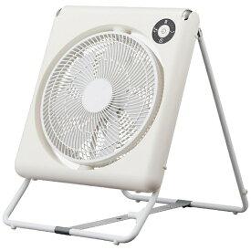 ドウシシャ DOSHISHA FLU-254D-WH リビング扇風機 PIERIA フォールディングファン ホワイト [DCモーター搭載 /リモコン付き][FLU254D]