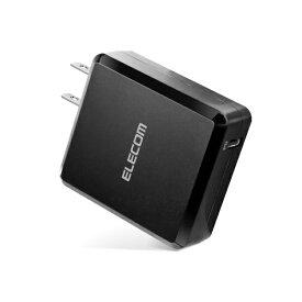 エレコム ELECOM スマホ用USB充電コンセントアダプタ認証 18W Type-C ブラック MPA-ACCP06BK [1ポート /USB Power Delivery対応]