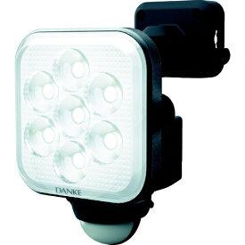 ムサシ Musashi ダンケ 8W×1灯 フリーアーム式LEDセンサーライト E40108