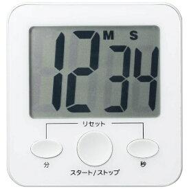 ヤザワ YAZAWA ビッグディスプレイデジタルタイマーホワイト T45WH[T45WH]