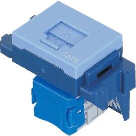パナソニック Panasonic Panasonic ぐっとすシリーズ情報モジュラジャック CAT6 埋込型 ブルー NR3170L