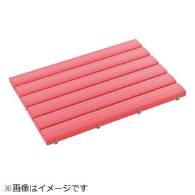 テラモト TERAMOTO テラモト 抗菌安全スノコ(組立品)600×1800ピンク MR-093-345-5