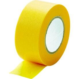 トラスコ中山 TRUSCO 建築塗装用マスキングテープ 幅24mm長さ18m 5巻入 イエロー MTA-2418-5-Y