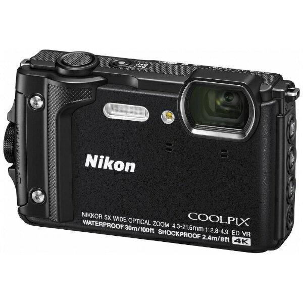 ニコン Nikon 【エントリーでポイント最大37倍 マラソン期間限定】W300 コンパクトデジタルカメラ COOLPIX(クールピクス) ブラック [防水+防塵+耐衝撃]