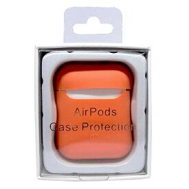 アイキューラボ iQ Labo AirPods用 スマートシリコンカバー オレンジ