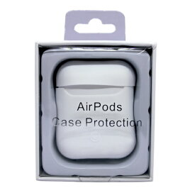アイキューラボ iQ Labo AirPods用 スマートシリコンカバー ホワイト