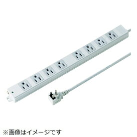 サンワサプライ SANWA SUPPLY 工事物件タップ TAP-KE8NL-5 [5.0m /8個口 /スイッチ無]